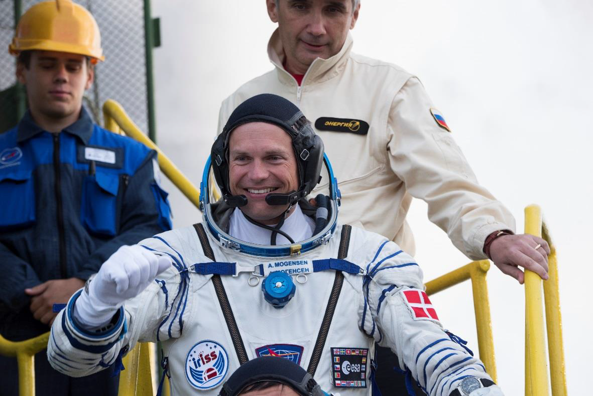 Astronaus Andreas Mogensen