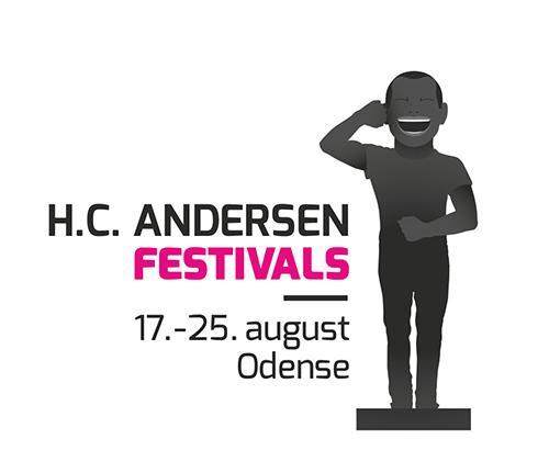 H.C. Andersen Festivals logo med dato: 17.-25. august 2013