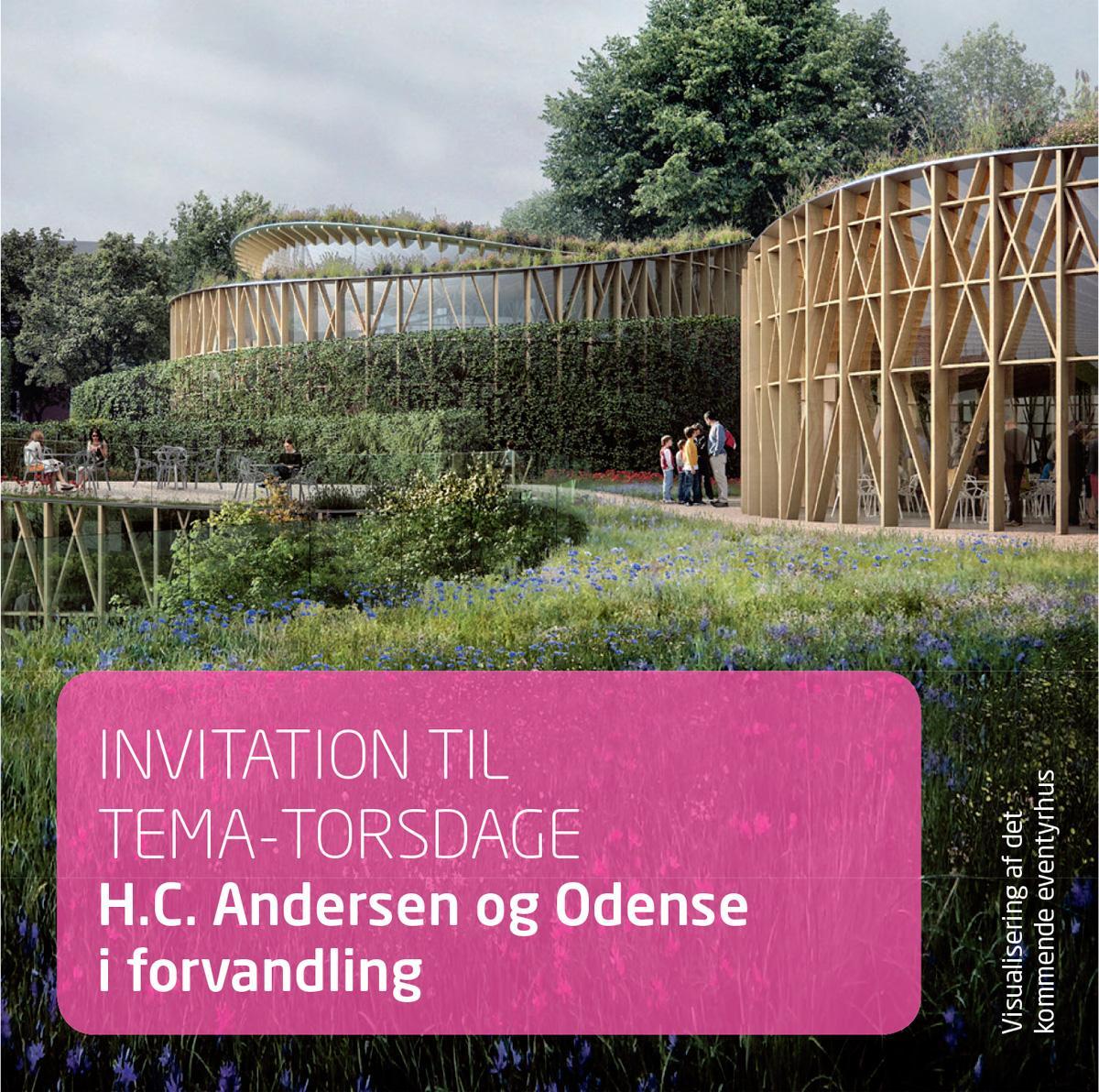 Tema-aftener om H.C. Andersen og Odense ved H.C. Andersen-Fonden 2016