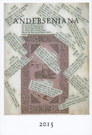 Forsiden af H.C. Andersen-tidsskriftet Anderseniana, årgang 2015