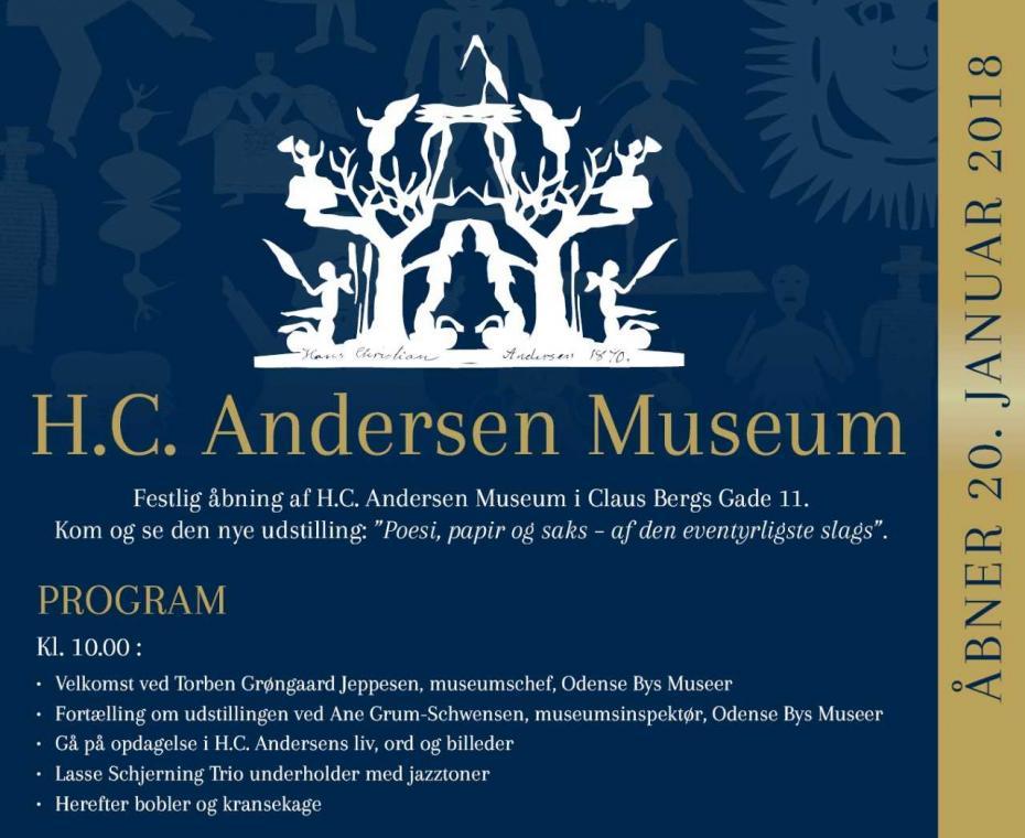Invitation H.C. Andersen Museum