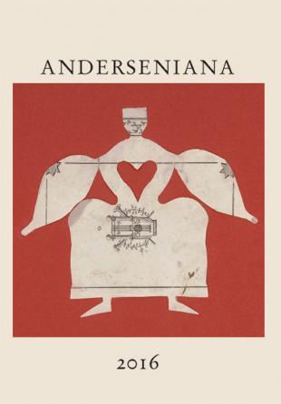 Forsiden af tidsskriftet om H.C. Andersen, Anderseniana, årgang 2016