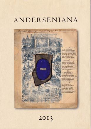 Forsiden af H.C. Andersen-tidsskriftet Anderseniana, årgang 2013