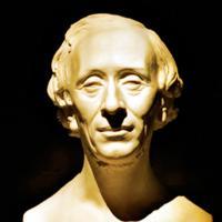 H.C. Andersen-buste. Museet H.C. Andersen Hus.
